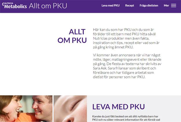 PKU-sidan