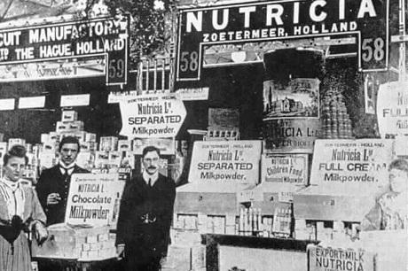 1905 Nutricia history