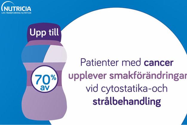 Smakförändringar vid cancerbehandling Nutricia Sverige 2020